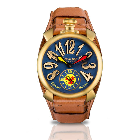 GAGA MILANO Manuale 48mm - Special Edition No Radiation - My Super Hot Deals