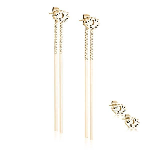 Lotus Earring Set - My Super Hot Deals