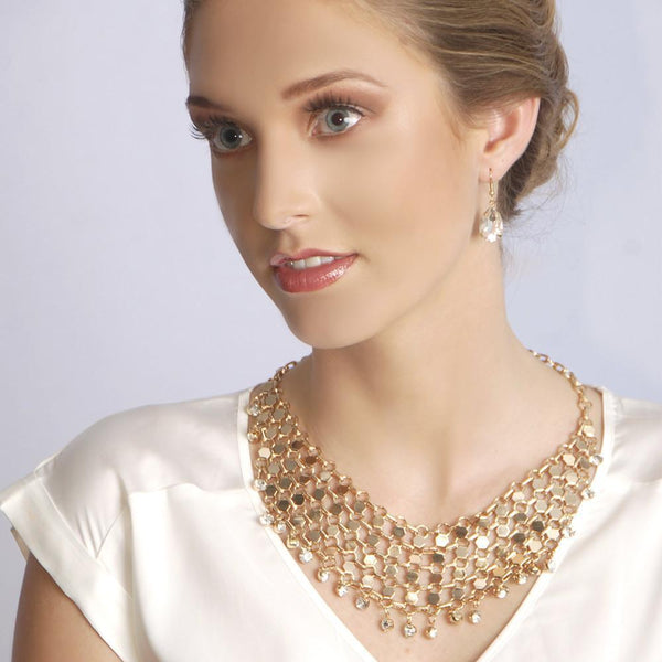 Filigree Necklace- Gold - My Super Hot Deals