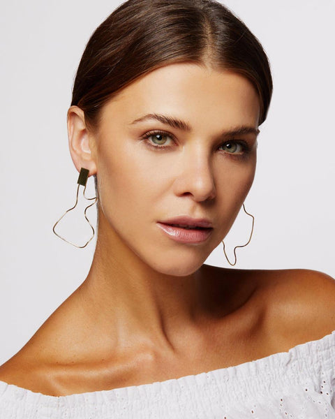 SCULPTURE SWAY EARRINGS - My Super Hot Deals