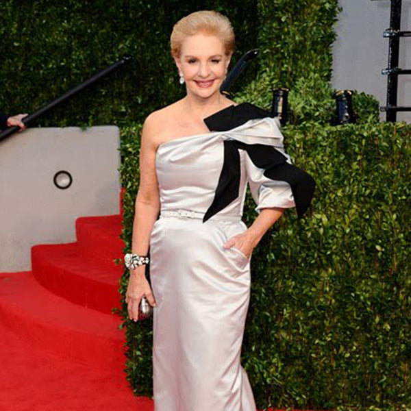 Carolina Herrera in the Pavé Rose Bracelet - Kenneth Jay Lane - My Super Hot Deals