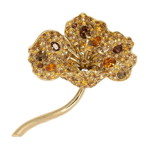 Long Stem Flower Pin - Kenneth Jay Lane - My Super Hot Deals