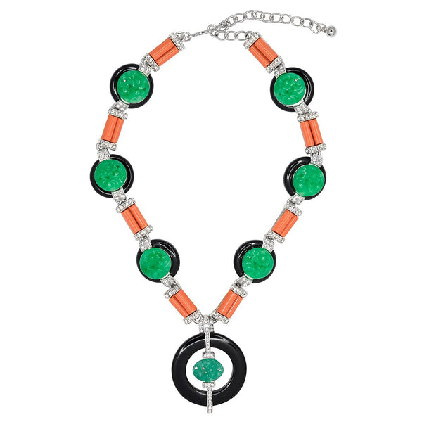 Button Deco Necklace - Kenneth Jay Lane - My Super Hot Deals