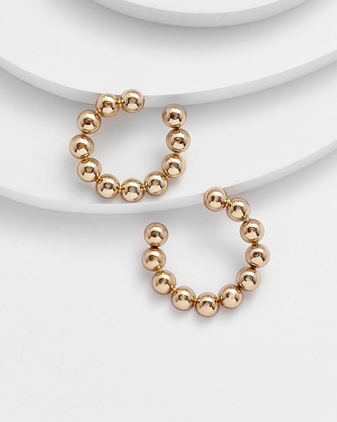 ELFRIEDA GOLD HOOPS - My Super Hot Deals