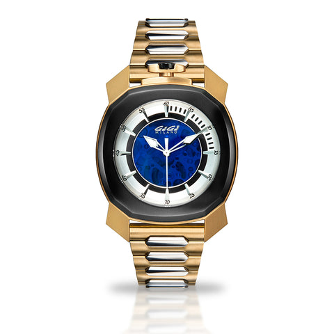 GAGA MILANO Frame_One - Yellow gold plated - Skeleton automatic - My Super Hot Deals