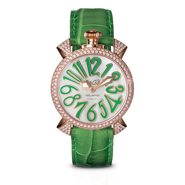 GAGA MILANO Manuale 40mm - Diamonds - My Super Hot Deals