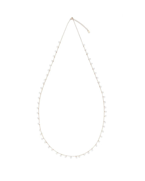 ANNABELLE FLOATING DIAMONETTES NECKLACE - My Super Hot Deals