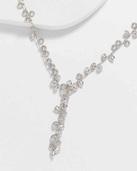 AUGUSTA DIAMONETTE DANGLE NECKLACE - My Super Hot Deals