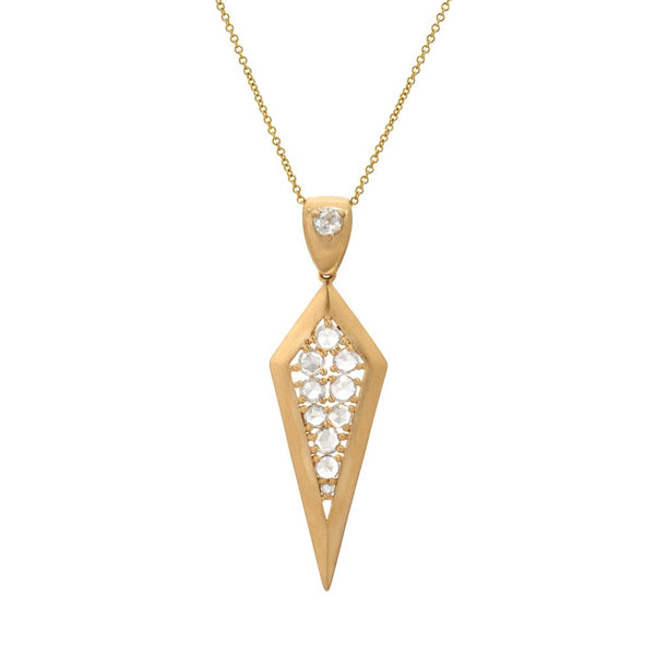 BAVNA  18K Gold and Diamond Pendant - My Super Hot Deals