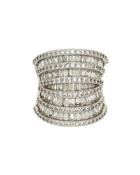CAMERON WIDE BAGUETTE RING - My Super Hot Deals