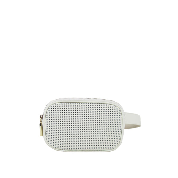 ALEXANDRA PERFORATED BELT BAG - My Super Hot Deals