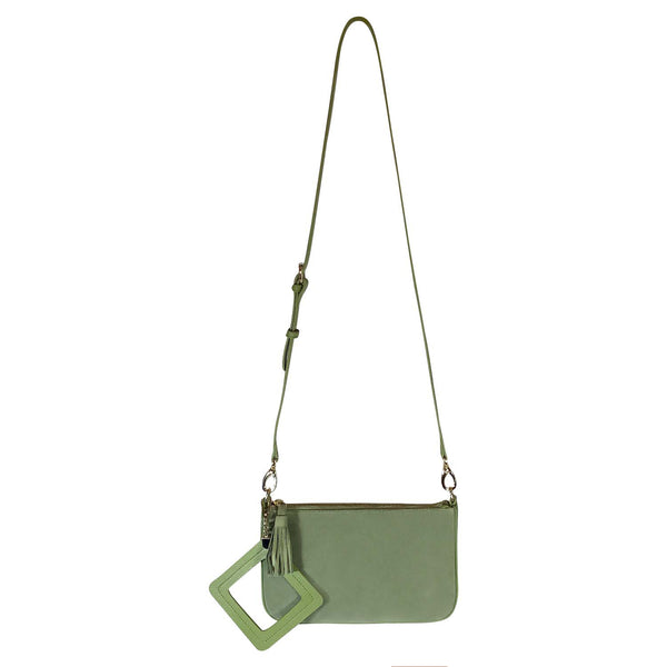 RONNIE CLUTCH AND CROSSBODY - JADE - My Super Hot Deals