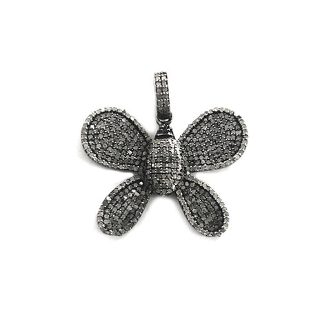 JANE BASCH Diamond Butterfly Charm - My Super Hot Deals