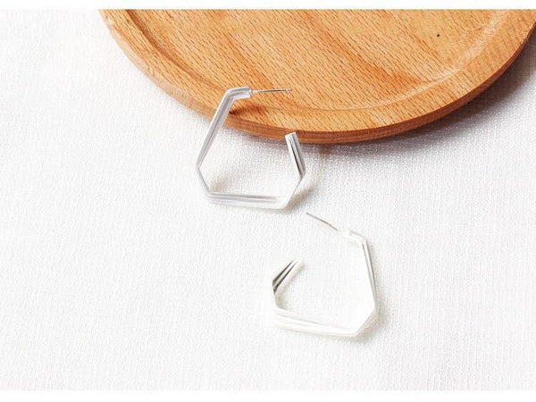 Multi Layer Triangle Hoop - My Super Hot Deals