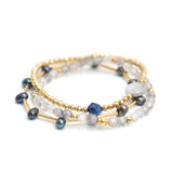 Celiah | Gold Black Pearl Bracelet Set - My Super Hot Deals