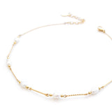 Coco | Gold Pearl Choker Necklace - My Super Hot Deals