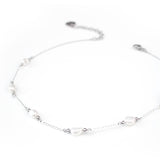 Coco | Silver Pearl Choker Necklace - My Super Hot Deals