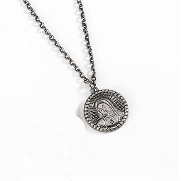 MADONNA GODDESS COIN PENDANT NECKLACE - My Super Hot Deals