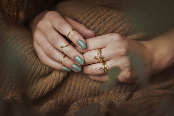Mounia | Gold Vermeil Moonstone Ring - My Super Hot Deals