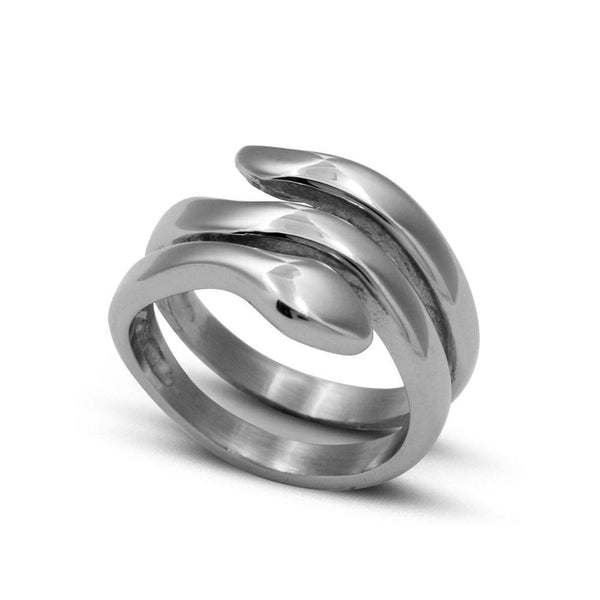 SMOOTH MINIMAL SNAKE RING - My Super Hot Deals
