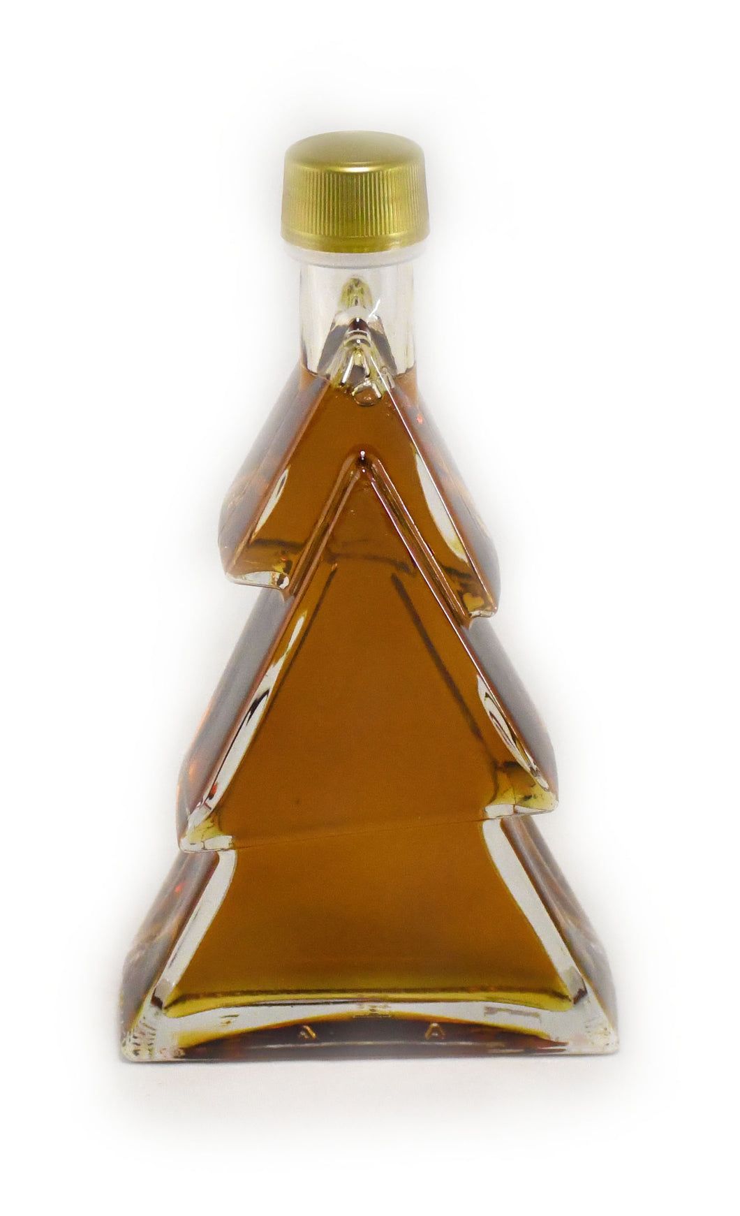200ml Glass Christmas Tree - Canada Grade A - Amber
