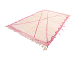 "Beni Ourain Rug - SIZE: 10'4"" x 7'2"" ( 314cm x 219cm) - Free Shipping"