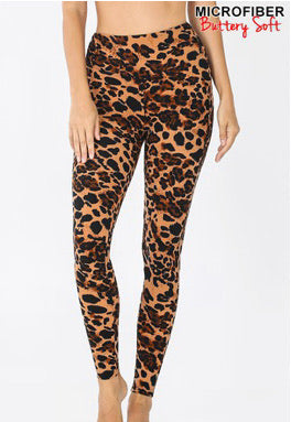 Butter Leopard Leggings