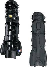 Pro Gold Umpire Shin Guards