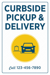 Curbside Pickup & Delivery