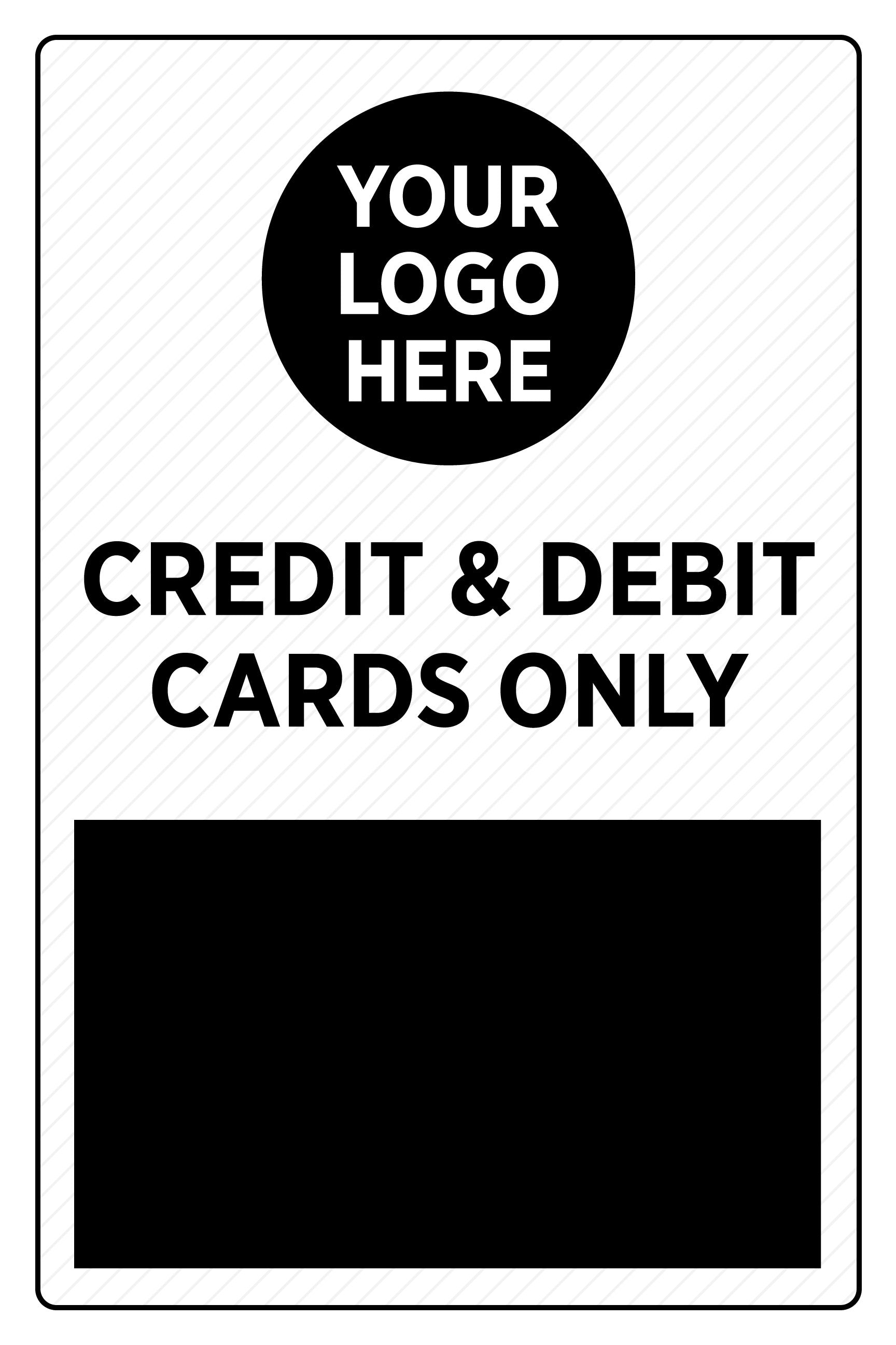 Credit & Debit Cards Only - Deluxe