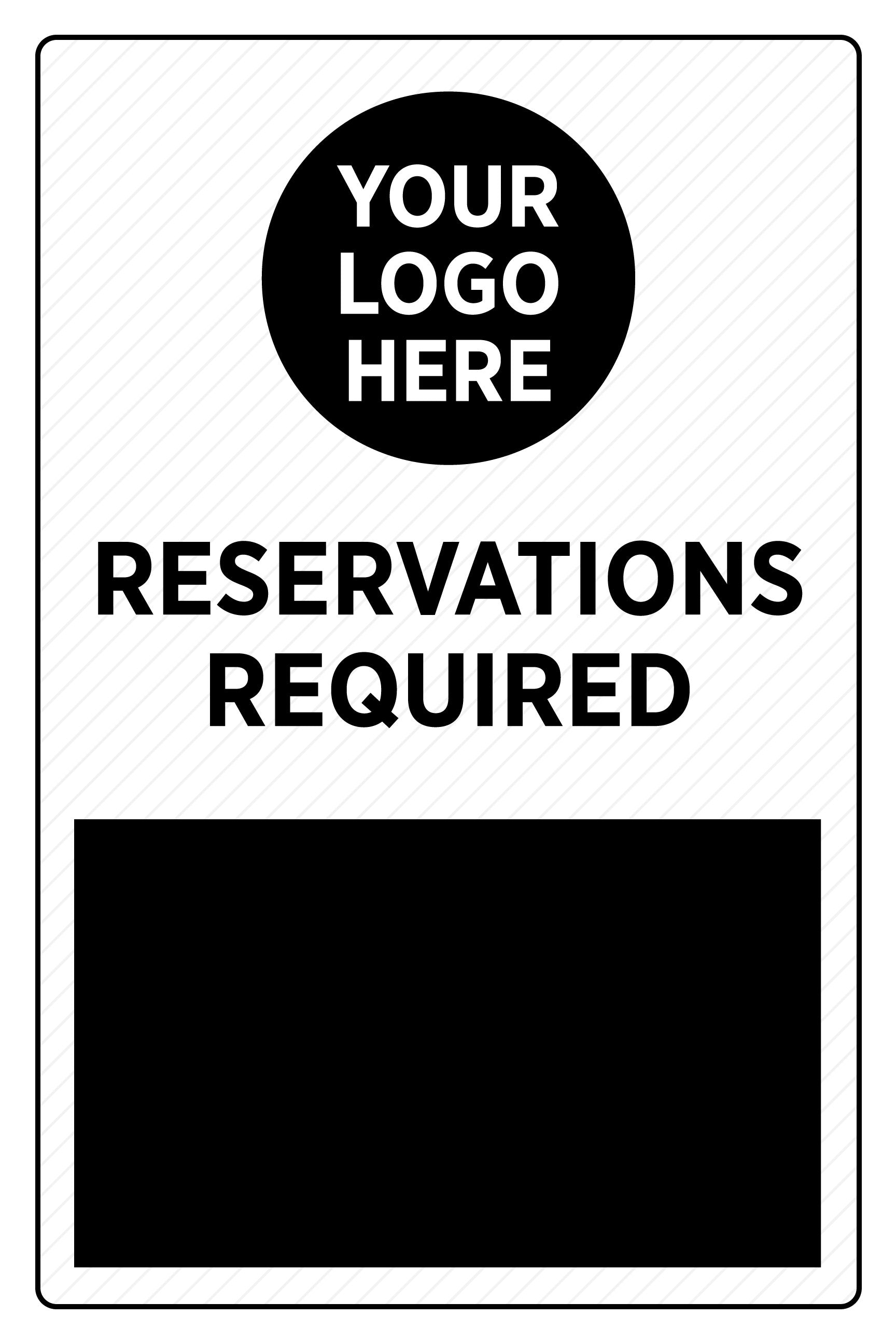 Reservations Required - Deluxe