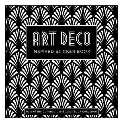Art Deco Inspired Sticker Book