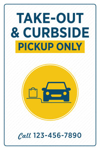 Take-Out & Curbside Pickup Only
