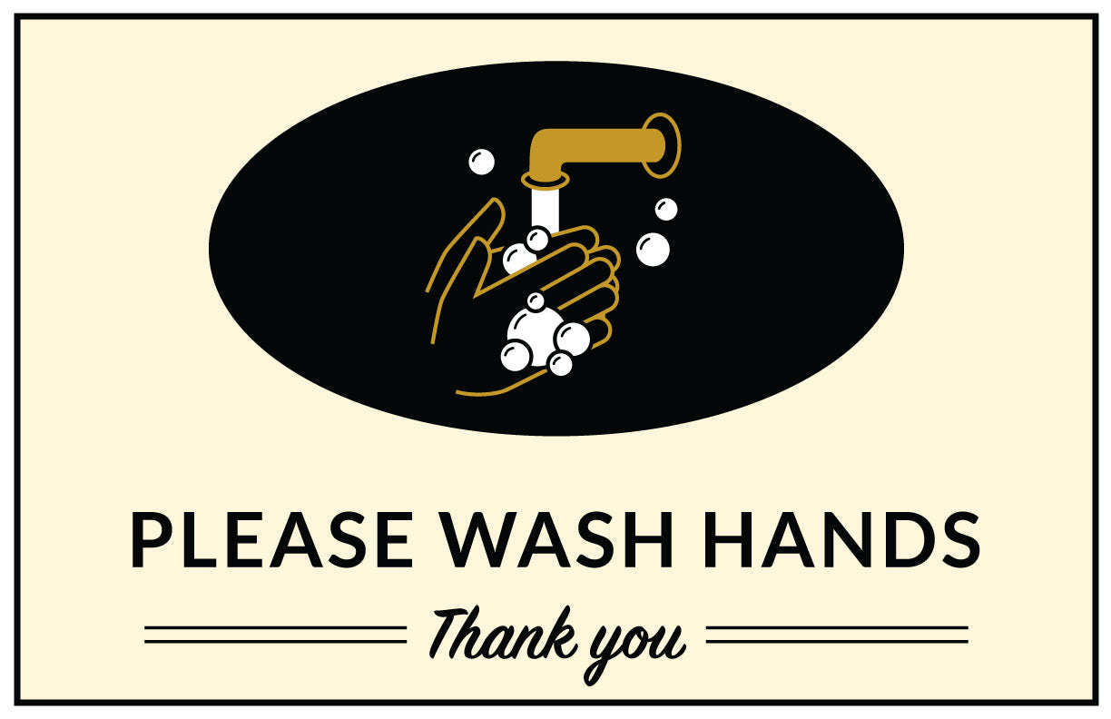 Please Wash Hands - Poster