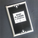 Load image into Gallery viewer, Art Deco Inspired Daily Planner & Journal