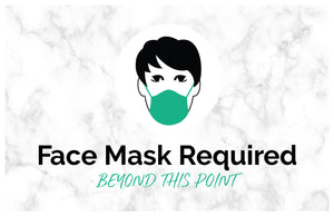 Face Mask Required - Window Decal