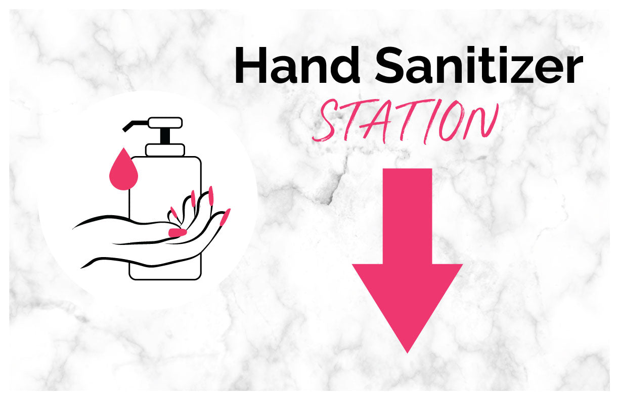 Hand Sanitizer - Window Decal
