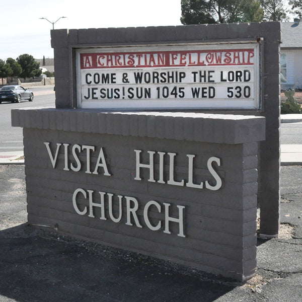 Vista Hills Church and Service