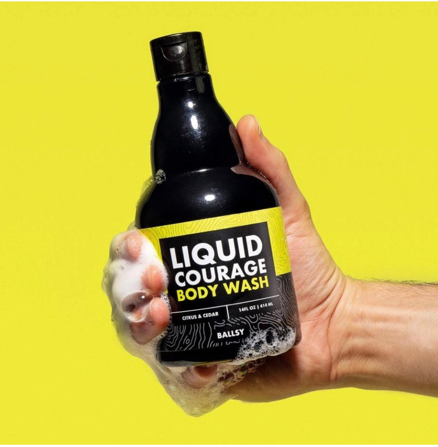 "Liquid Courage ""Shower Beer"" Body Wash"