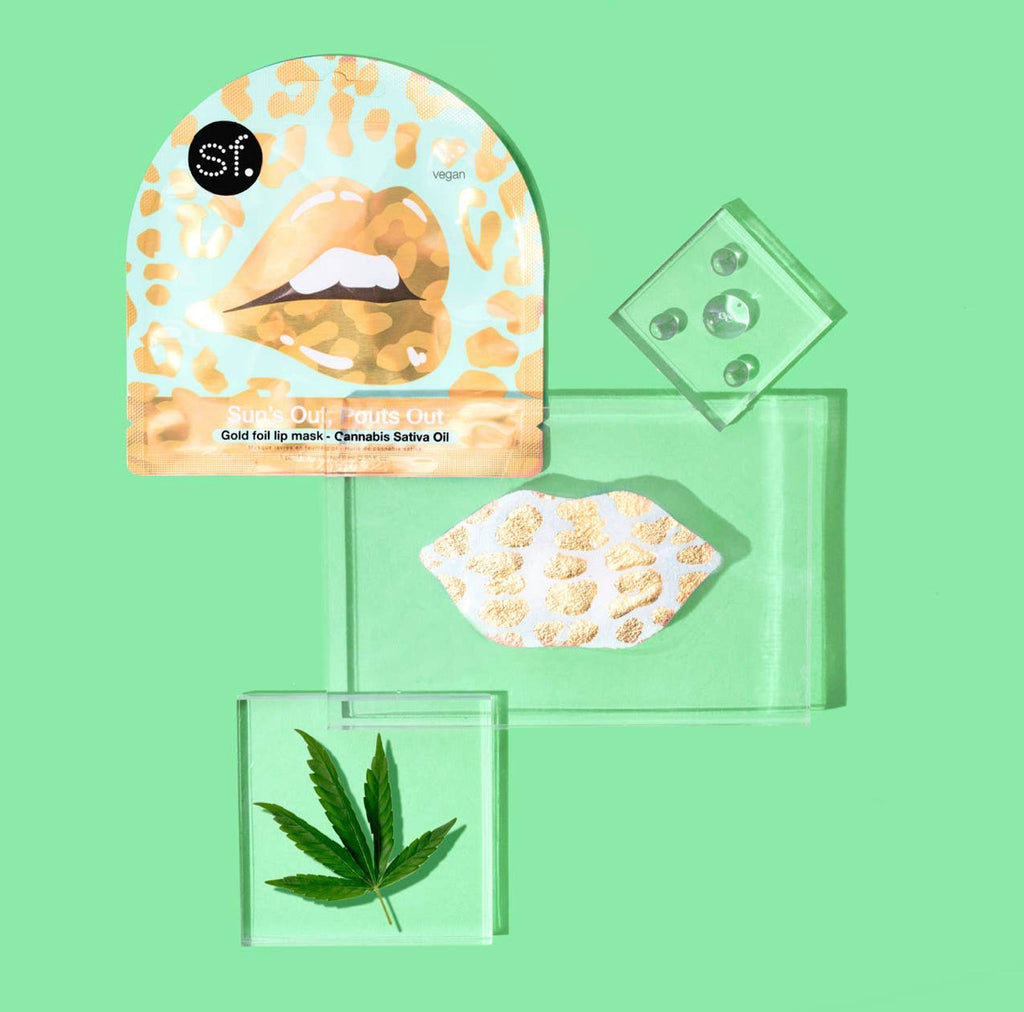 Sun's Out Pouts Out - Cannabis Sativa Lip Mask