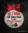 Final Rose Bachelor Christmas Ornament