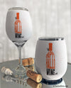 Happy Hallowine Insulated Wine Glass Sleeve