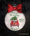 Home For the Holidays Car Personalized Ornament