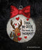 My Deer You Make Me Horny Personalized Ornament