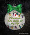 You Light Up My Life Personalized Christmas Ornament
