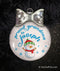 Proud Grandma or Grandpa Personalized Ornament