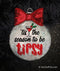 Tis the Season to be Tipsy Christmas Ornament