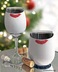 #Elfie Christmas Selfie Insulated Wine Glass Sleeve