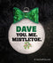You Me Mistletoe Personalized Christmas Ornament