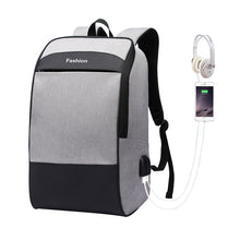 Load image into Gallery viewer, Men laptop backpack Anti theft backpack